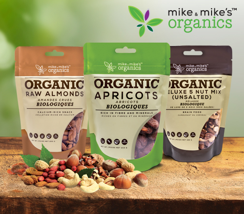 Mike & Mike's Organics – Package Design